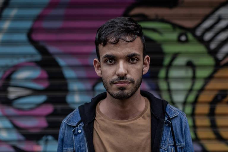 Matheus Emílio Pereira da Silva, 22, da ONG Pela Vidda, que se infectou aos 18 anos