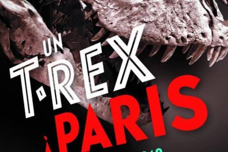 Exposição com esqueleto inédito do Tiranossauro começa nesta terça-feira