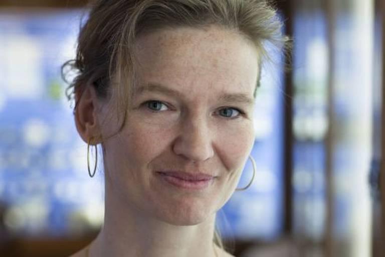 Por um período de tempo, Rikke Schmidt Kjaergaard só conseguia se comunicar com piscadas de olhos