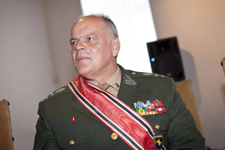 Novo secretário de segurança, João Camilo Pires de Campos, em evento no Palácio dos Bandeirantes em 2017