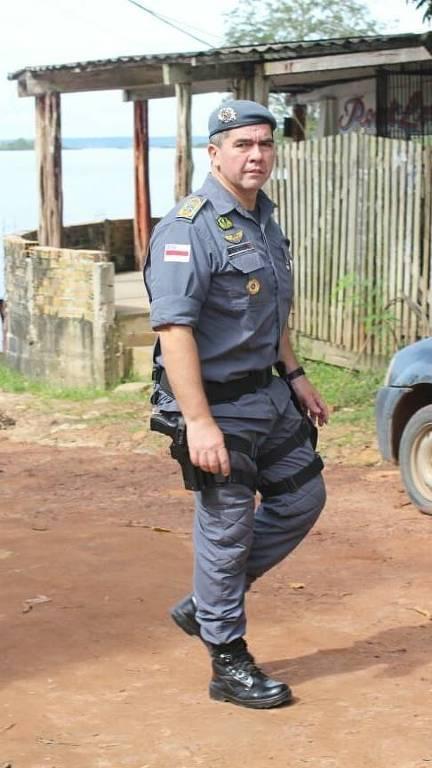 David Brandão, comandante da PM no Amazonas
