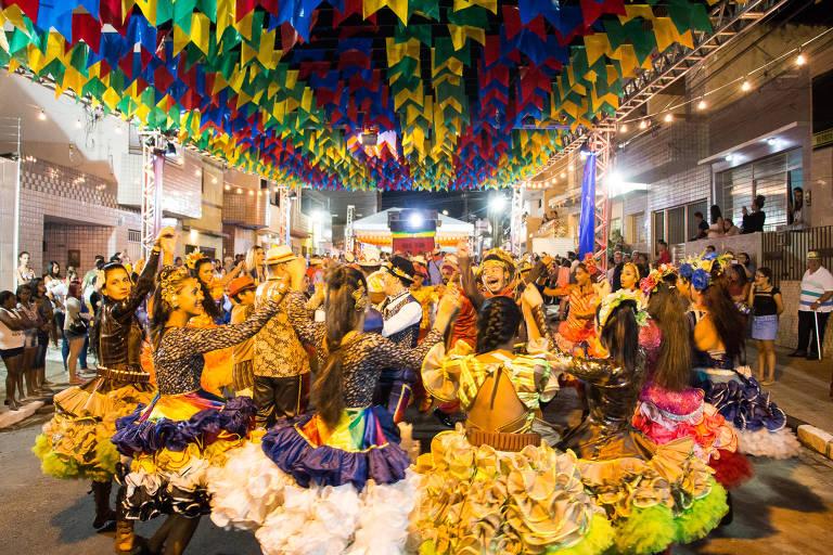 Festas juninas pelo país