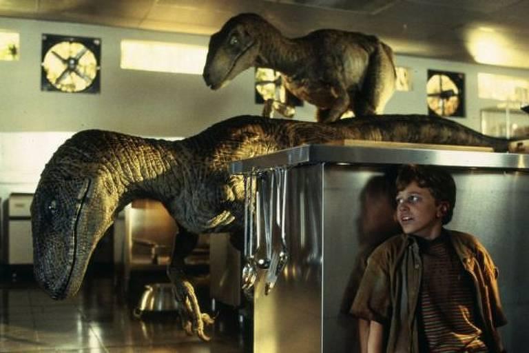 Lançado em 1993, o filme ganhou no ano seguinte o Oscar de melhores efeitos especiais