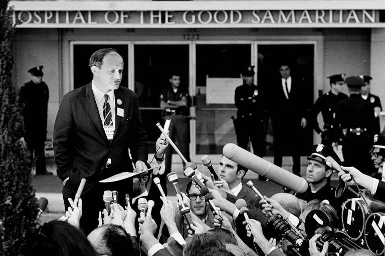 1968: Robert Kennedy não resiste aos ferimentos e morre em Los Angeles