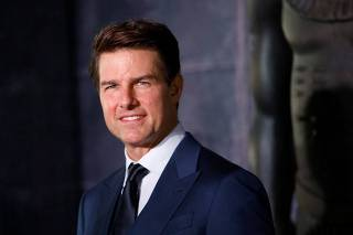Tom Cruise posa durante lançamento de filme na Cidade do México