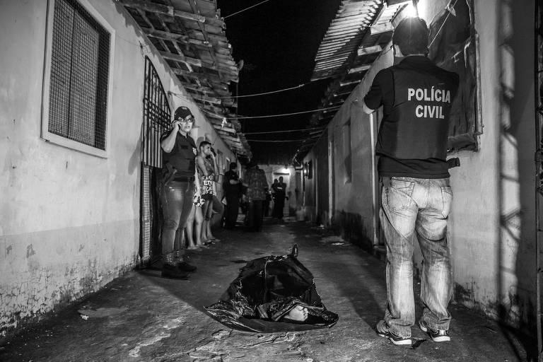 Corpo de jovem assassinado em Ananindeua, no Pará