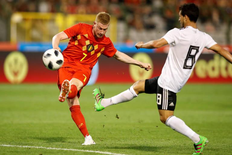 Lance de Bélgica e Egito