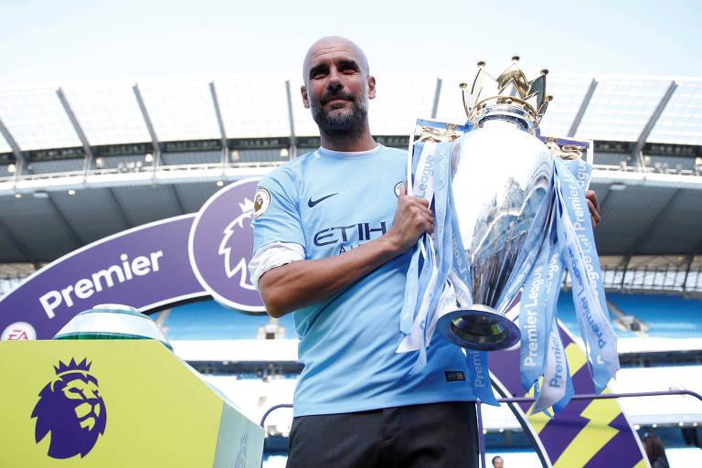 City de Pep Guardiola faturou uma série de recordes no título inglês da última temporada