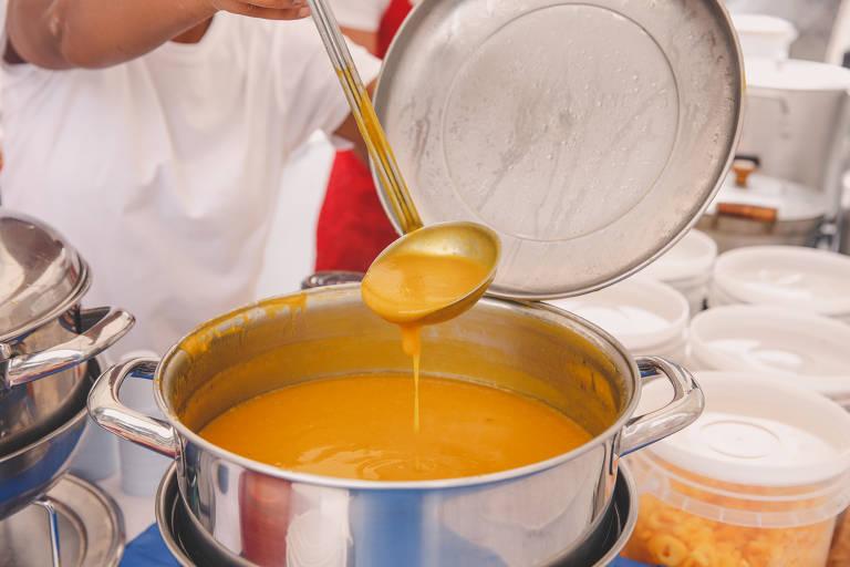 Festival da Sopa no Memorial da América Latina