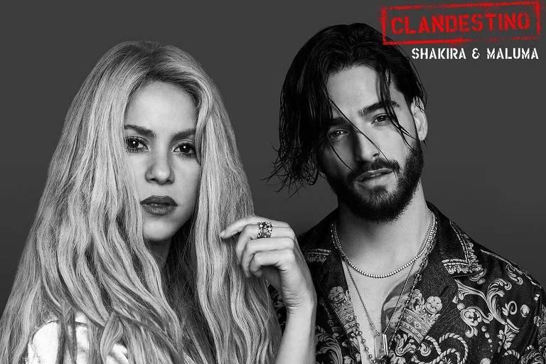 "Shakira e Maluma apresentam novo single ""Clandestino"""