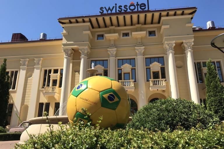 Hotel da seleção brasileira em Sochi