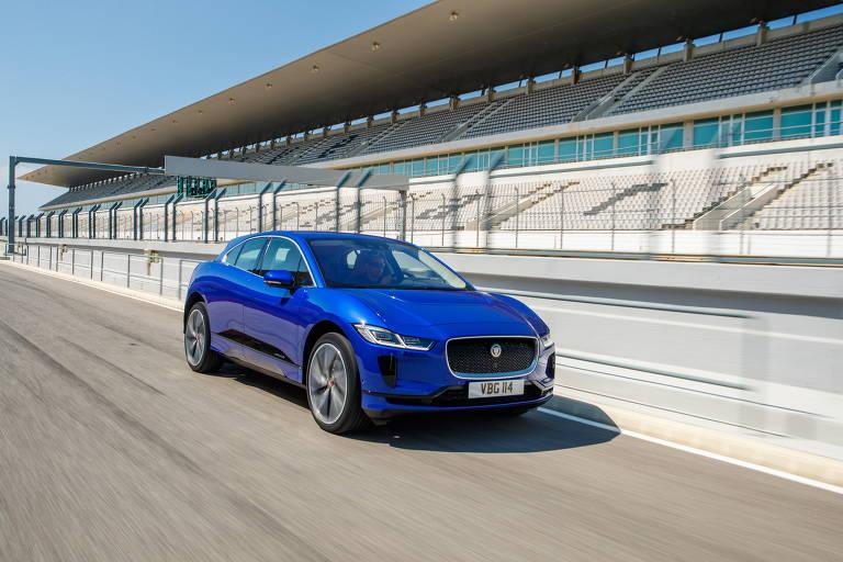 O utilitário elétrico Jaguar I-Pace