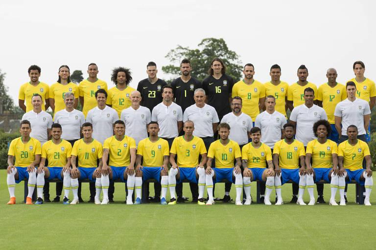 As fotos oficiais das seleções da Copa do Mundo 2018
