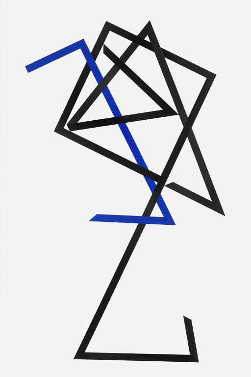 Obra do artista Macaparana, que apresenta 15 obras inéditas no Museu Lasar Segall