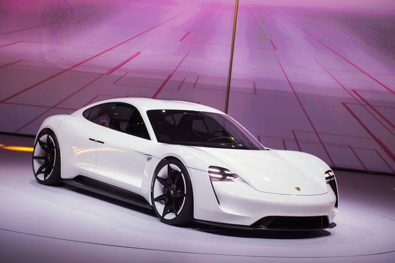 Taycan, o carro elétrico da Porsche