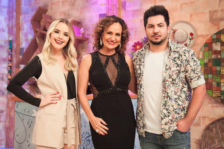 A dupla Thaeme e Thiago participa do programa Ritmo Brasil na RedeTV!
