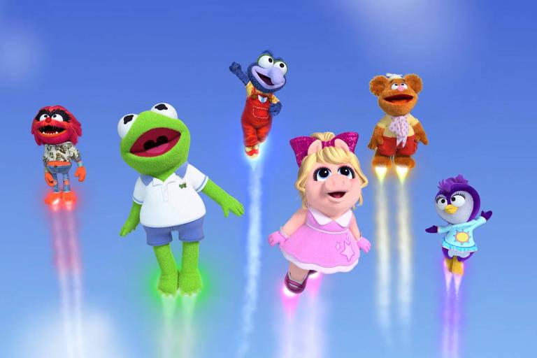 """Série em animação """"Muppet Babies"""" do Disney Junior"""