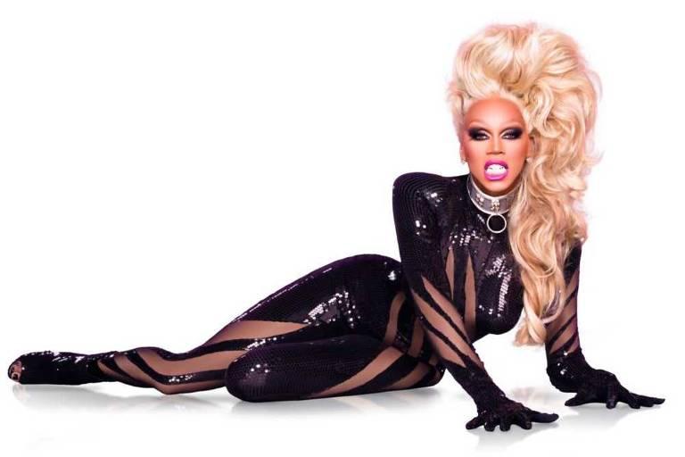 A drag queen RuPaul, que comanda reality para escolher a próxima estrela drag