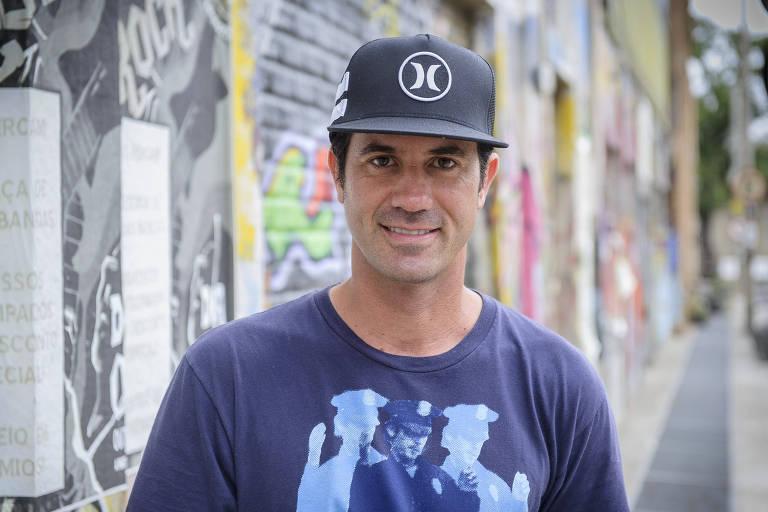 Bob Burnquist é presidente da Confederação Brasileira de Skate