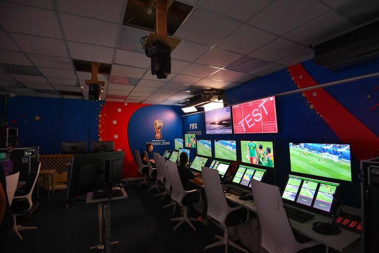 Sistema de árbitro de vídeo