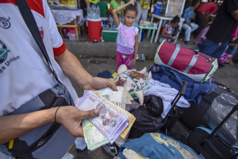 Êxodo venezuelano