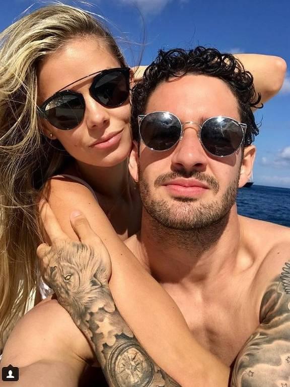 Alexandre Pato e Danielle Knudson