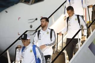 Soccer Football - FIFA World Cup - Argentina Arrival