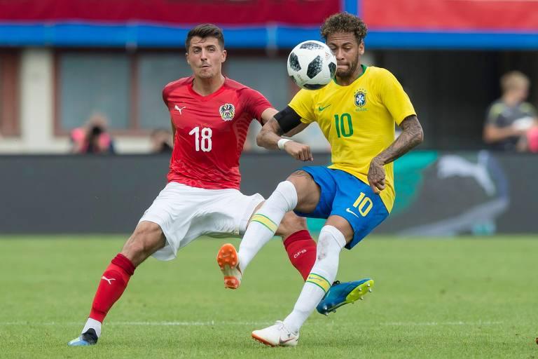 Brasil x Áustria