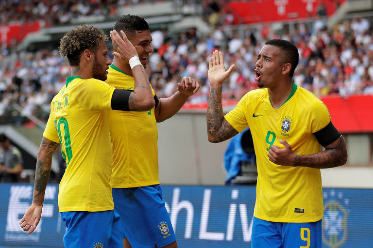 Áustria 0 x 3 Brasil, amistoso em Viena