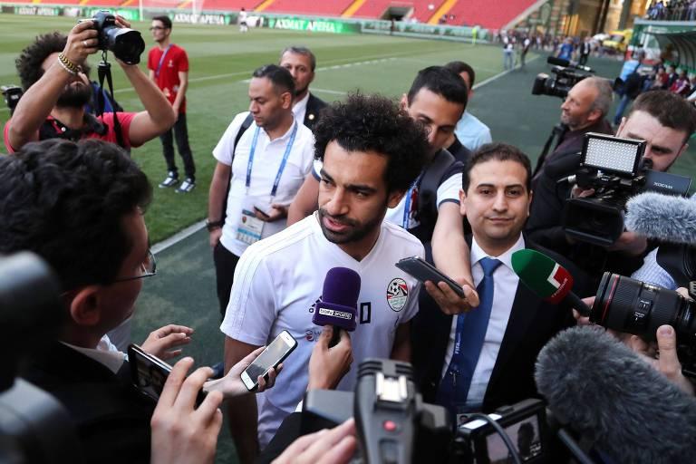 Salah e seleção do Egito