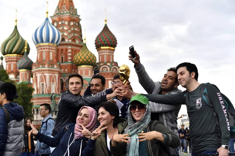 Copa do Mundo - Clima em Moscou - 10.jun