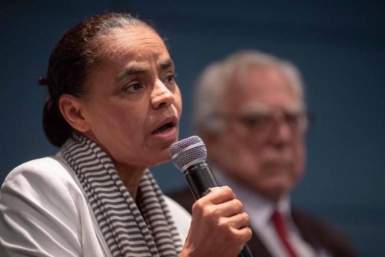Marina Silva (Rede) tem 15% das intenções de voto, segundo o Datafolha