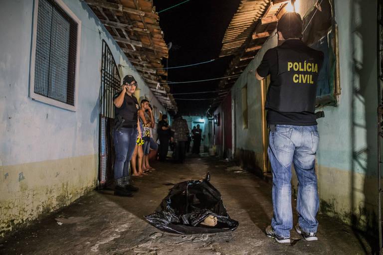 Jovem foi executado dentro de casa, por dois homens que chegaram em uma moto, em Ananindeua, na Grande Belém