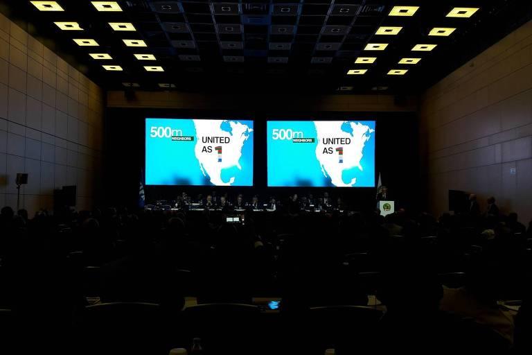 Candidatura United 2026 faz sua apresentação em reunião da Confederação Africana
