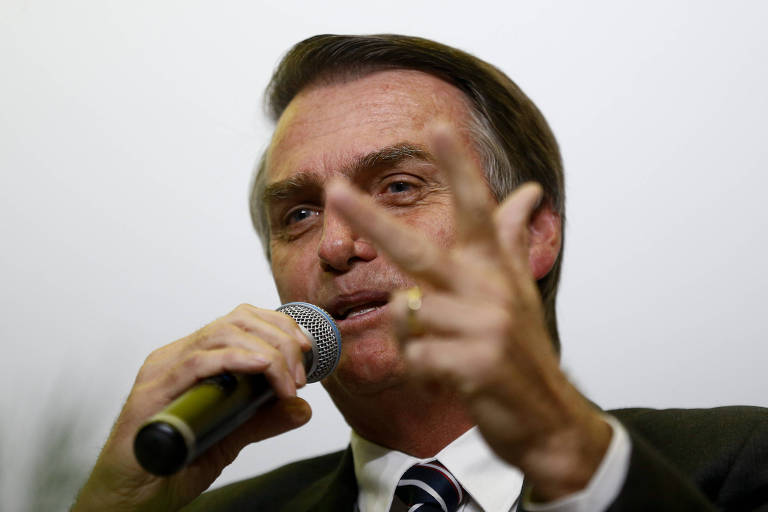 Deputado Jair Bolsonaro (PSL), pré-candidato à Presidência