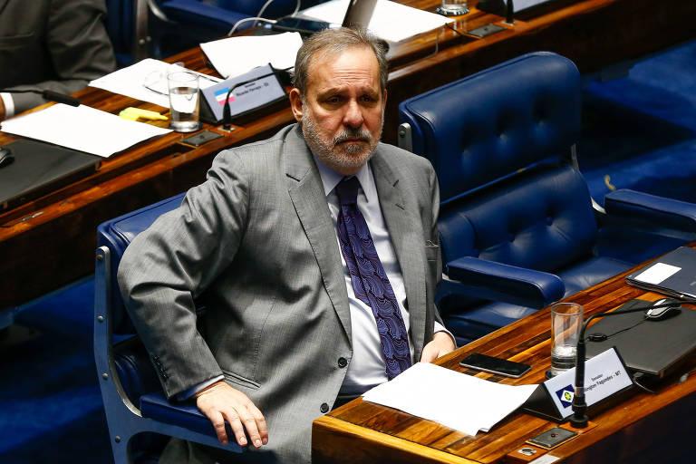 O senador Armando Monteiro (PTB-PE), que anunciou a pré-candidatura ao governo de Pernambuco