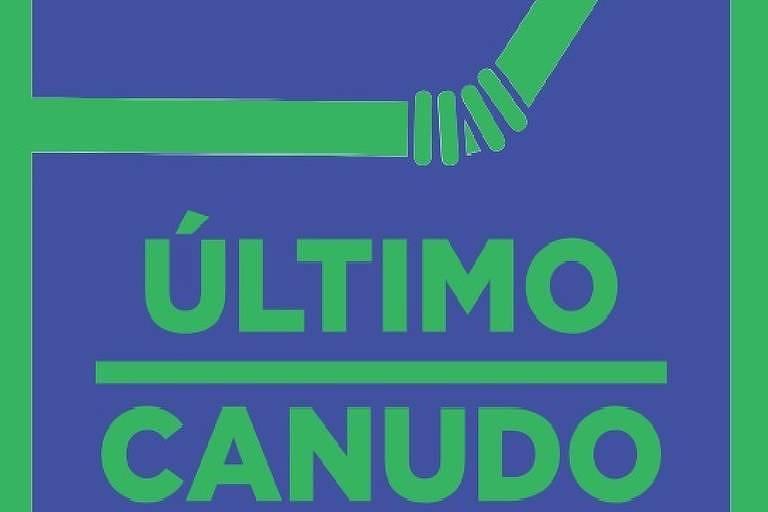 cartaz da campanha Último Canudo lançada no último dia 5 de junho