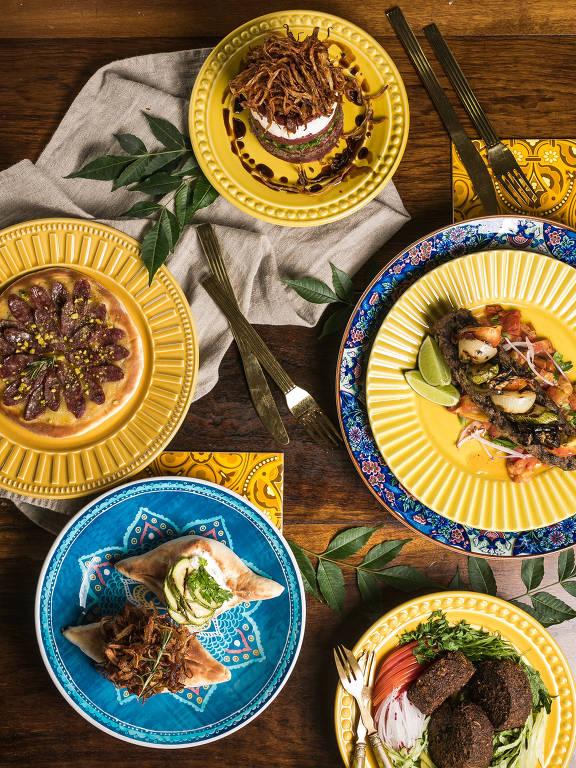 Sainte Marie Gastronomia o melhor árabe