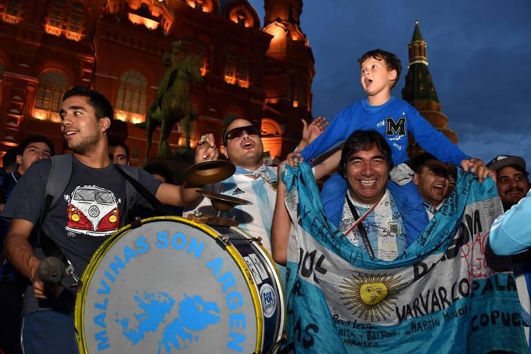 Moscou em clima de Copa