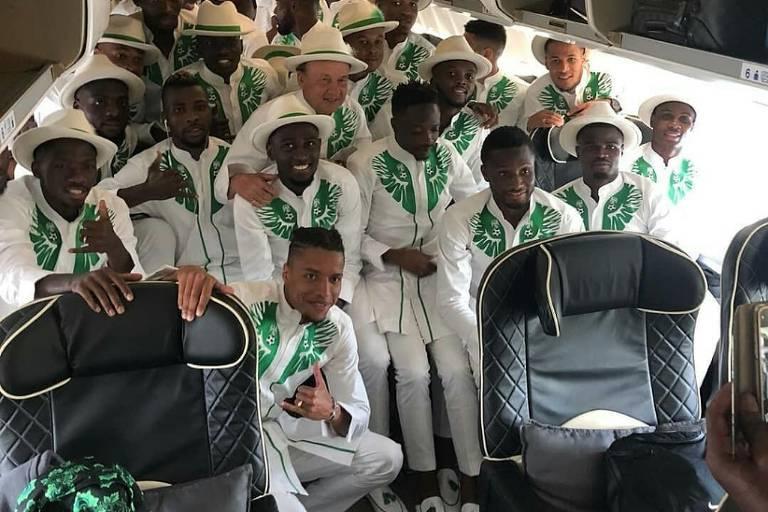 Seleção da Nigéria às vésperas da Copa do Mundo de 2018