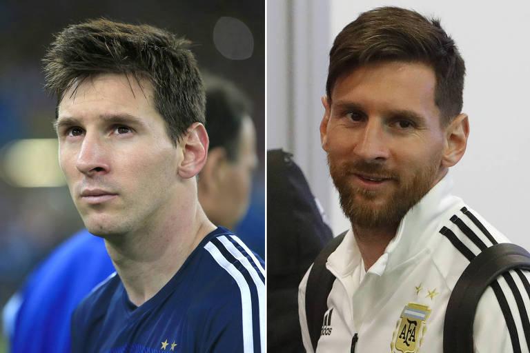 O visual de destaques da Copa, quatro anos depois