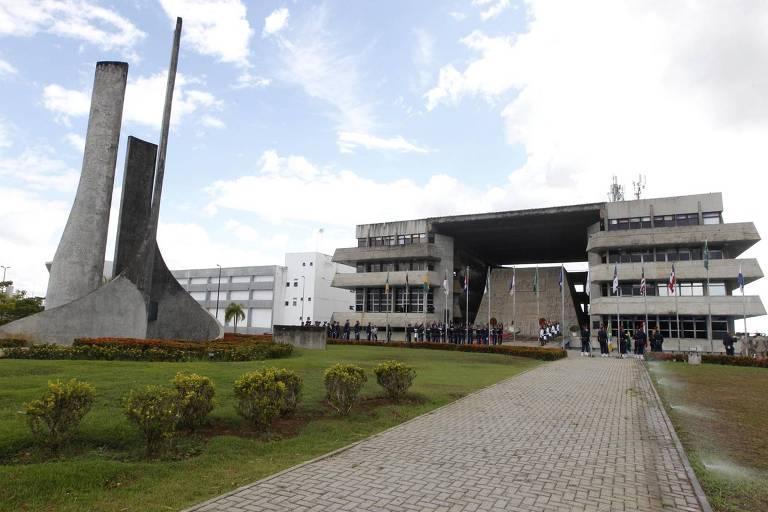 Palácio Deputado Luis Eduardo Magalhães, em Salvador, que abriga a Alba (Assembleia Legislativa da Bahia)