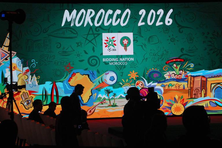 Propaganda marroquina para sediar a Copa do Mundo de 2026