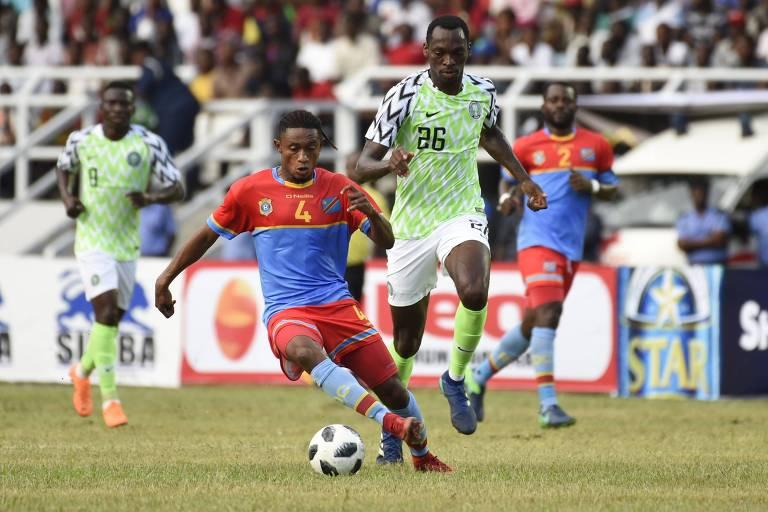 Lance do amistoso entre Nigéria e República Democrática do Congo em Port Harcourt
