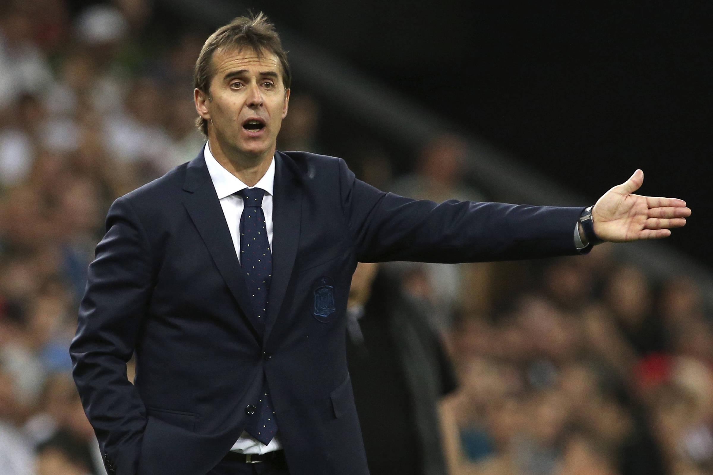 25848f264cbf5 Técnico da Espanha na Copa assumirá o Real Madrid após o Mundial -  12 06 2018 - Esporte - Folha