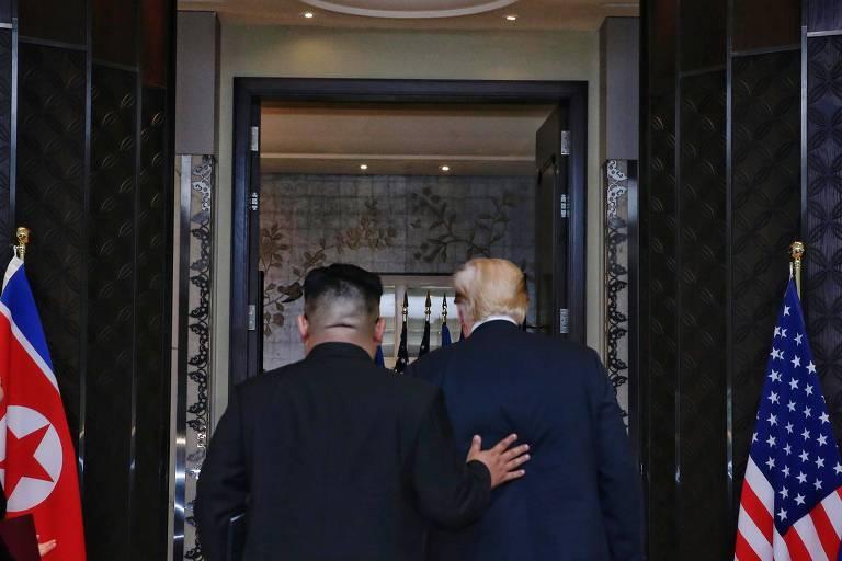 Encontro entre Donald Trump e Kim Jong-un