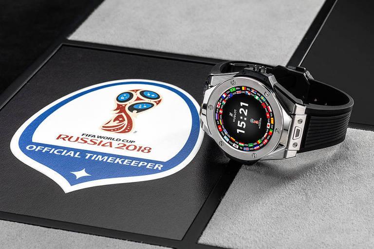 Relógio da Hublot para Copa