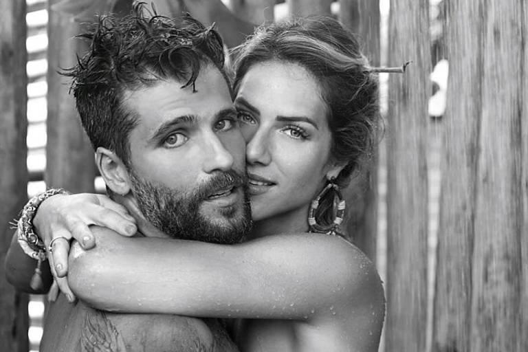 O casal Bruno Gagliasso e Giovanna Ewbank publica foto para celebrar Dia dos Namorados