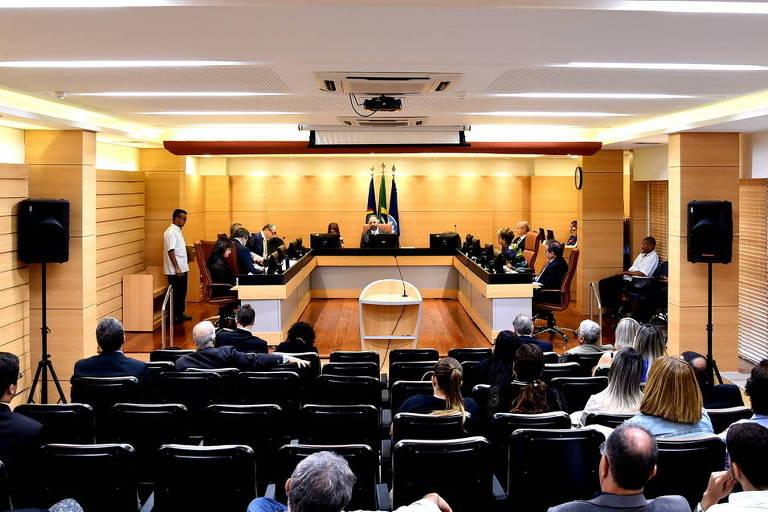 Sessão do Tribunal de Contas de Pernambuco