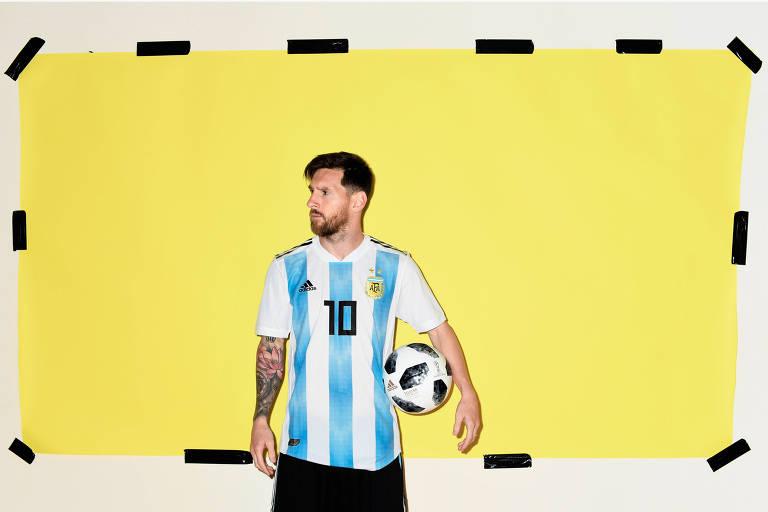 Astros da Copa do Mundo posam para fotos da Fifa